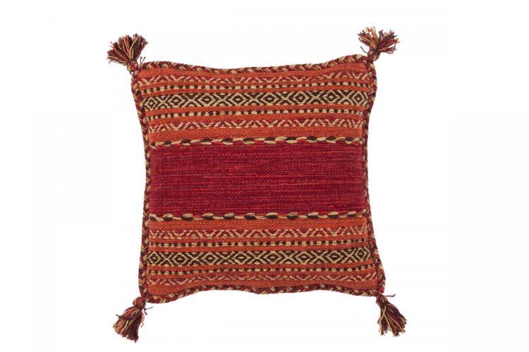 45x45 Kissen Alhambra Pillow 335 Rot von Kayoom