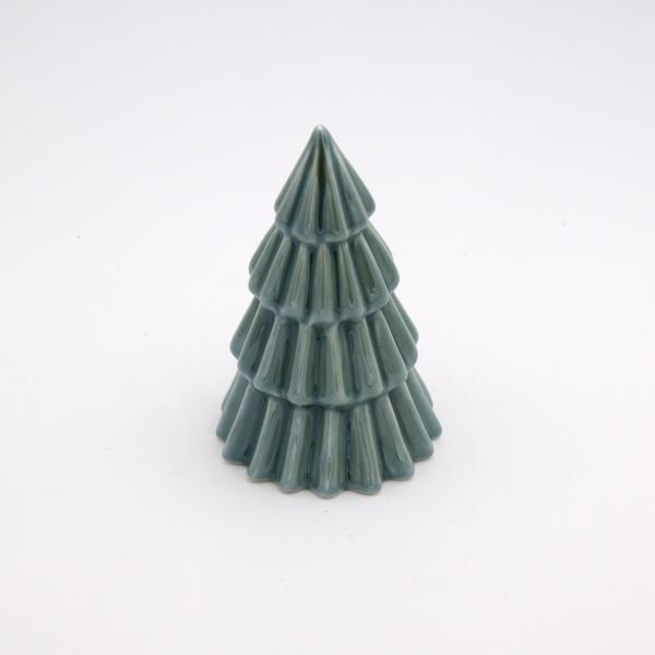 Deko Tanne 11,8 cm hoch Grün von Werner Voss