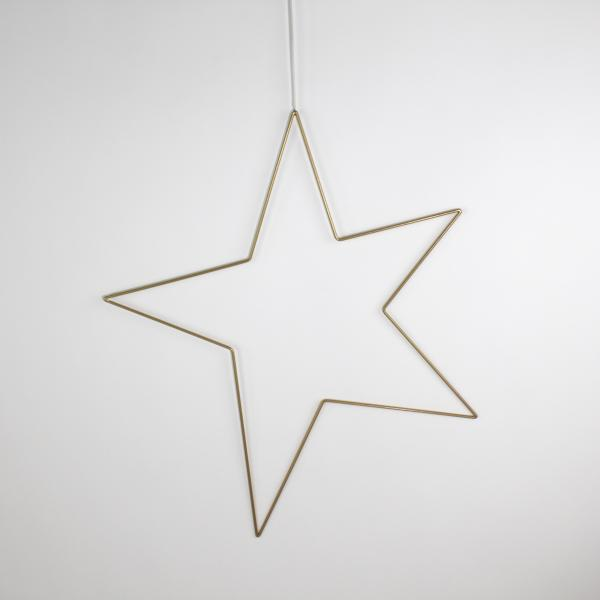 Deko-Stern 61x69 cm Gold von Werner Voss