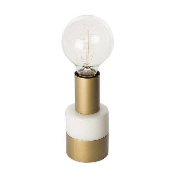 Tischlampe Lalande Weiß von Kayoom