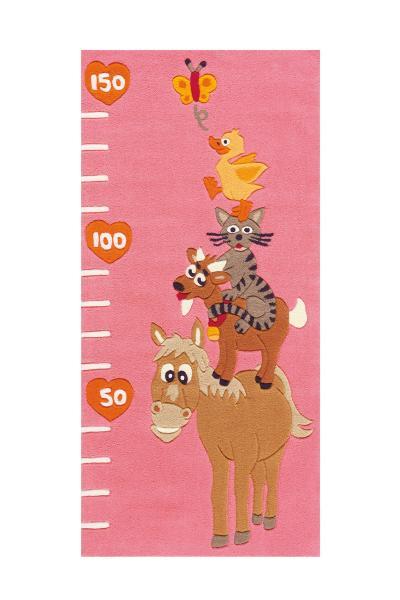 75x160 Teppich Joy 4168 Animals von Arte Espina Rosa