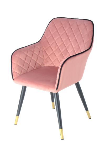 Stuhl Amino 525 Rosa / Schwarz von Kayoom