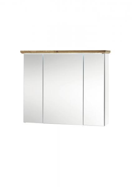 Bad-Spiegelschrank TOSKANA von Bega Eiche Artisan / Weiss