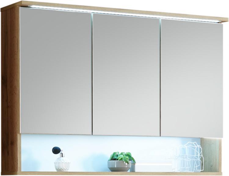 Bad-Spiegelschrank inkl LED Beleuchtung BEST von Bega Wildeiche