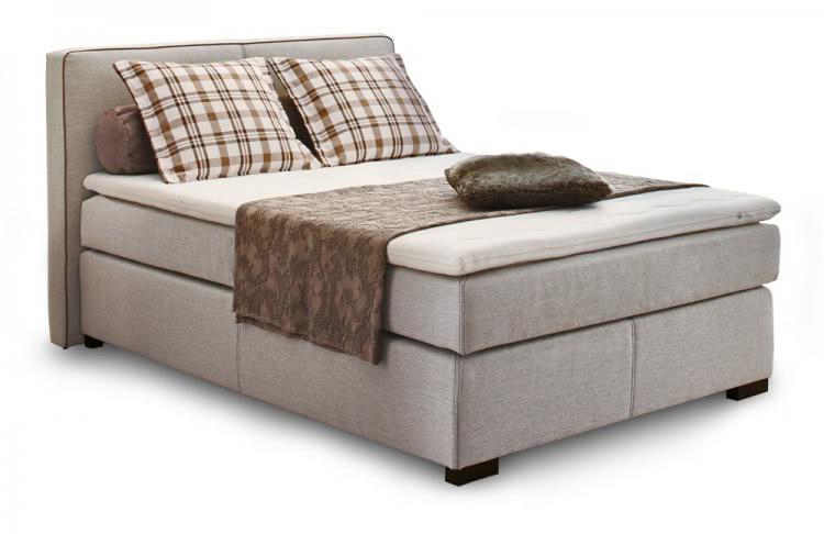 boxspringbett romantica 140x200 mit 7 zonen matratze. Black Bedroom Furniture Sets. Home Design Ideas