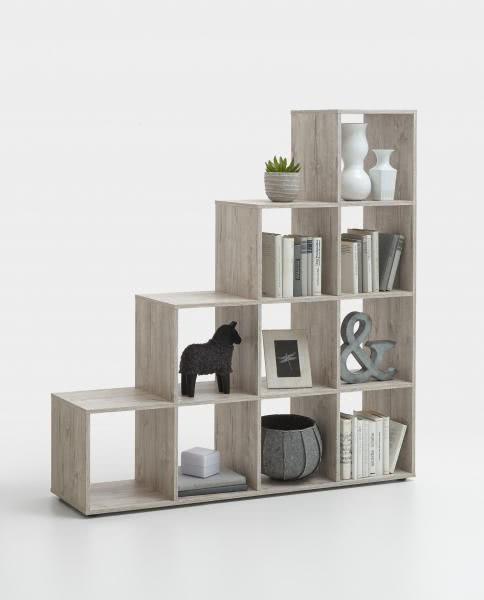 FMD Möbel Raumteiler MEGA 2 Stufenregal
