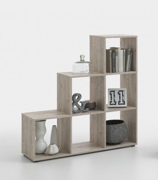 FMD Möbel Treppenregal MEGA 1 Raumteiler
