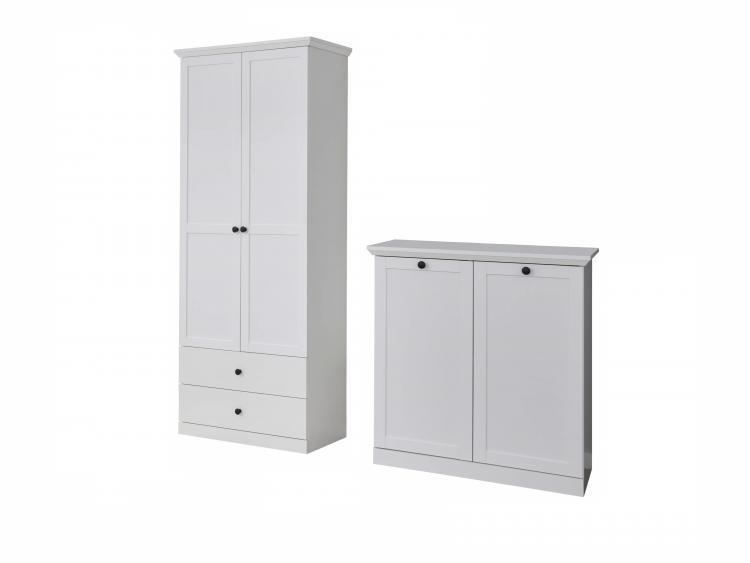 Garderobe Kommode Weiß 2021