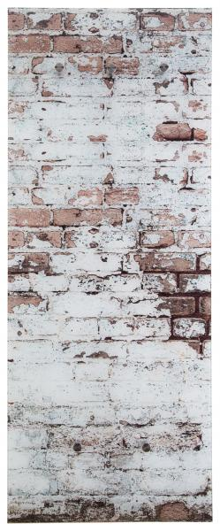 Glasgarderobe FELIX ca. 50x125 cm Motiv: Mauer von Spiegelprofi