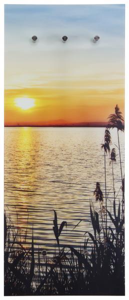 Glasgarderobe FELIX ca. 50x125 cm Motiv: Sonne von Spiegelprofi