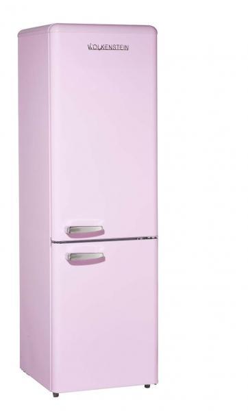 WOLKENSTEIN KG250.4RT SP A++ Kühl-Gefrierkombination 178 cm hoch Pink