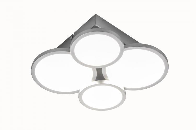 LED Deckenleuchte 4-flg NEO von Nino Nickel matt