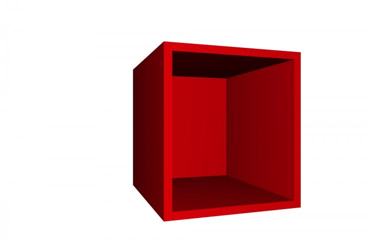Mehrzweckschrank Aufsatz-Regal 30 Steffen von Held Möbel Rot
