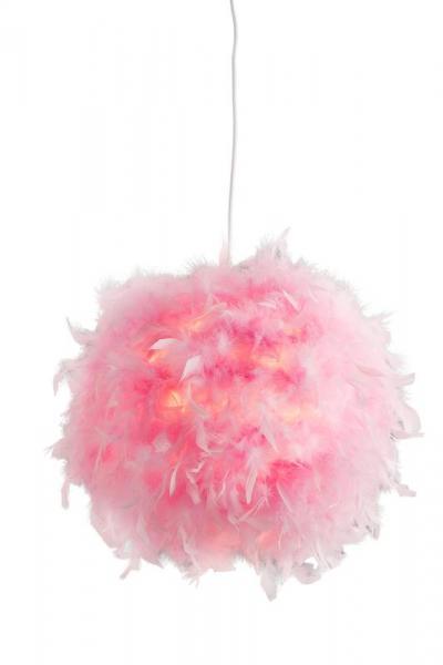 Pendel 1-flg Ø 30 cm DUCKY von Nino Pink