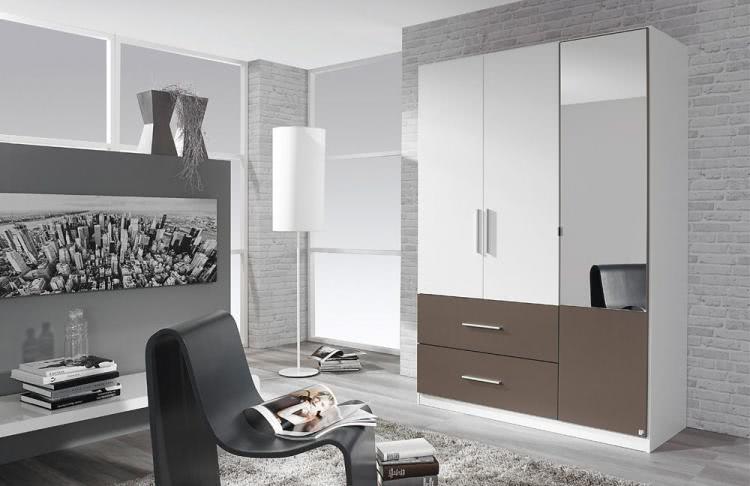 kleiderschrank 3 trg alvor von rauch packs alpinwei lavagrau. Black Bedroom Furniture Sets. Home Design Ideas