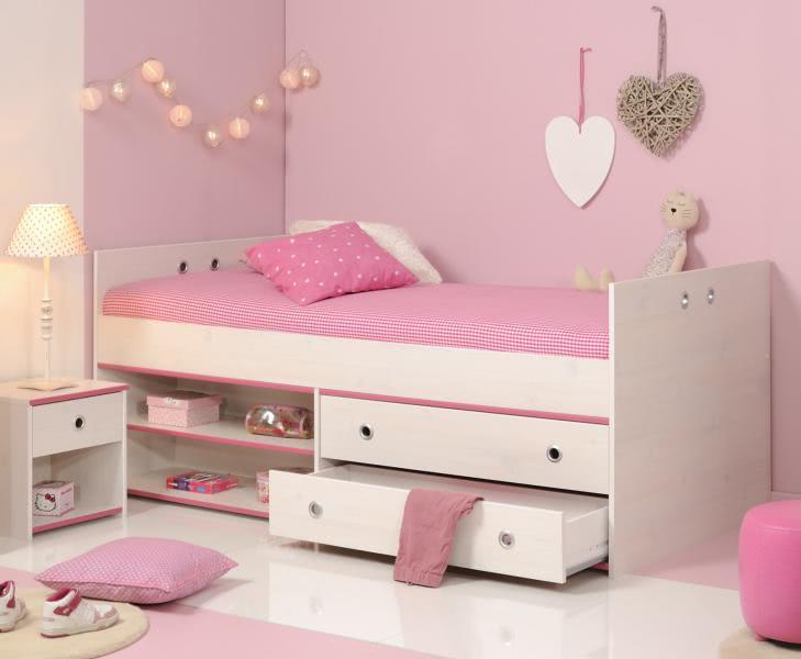 Schlafzimmer 2-tlg. inkl 90x200 Stauraumbett Smoozy 24b von Parisot ...