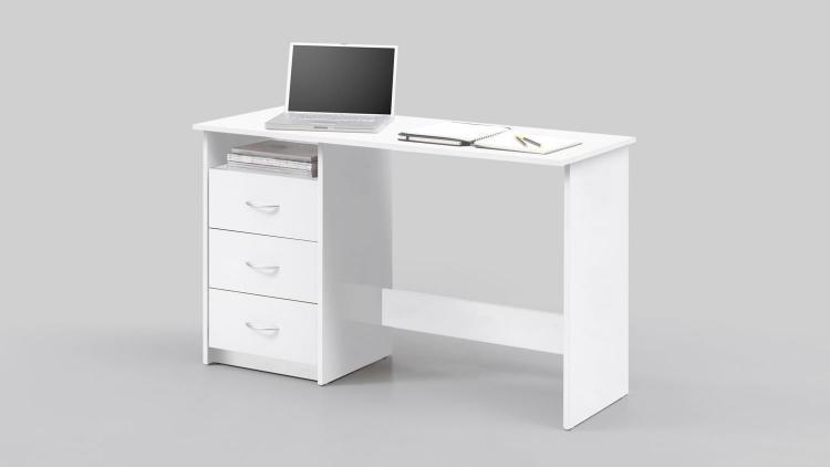 Schreibtisch ADRIA von Bega Weiss