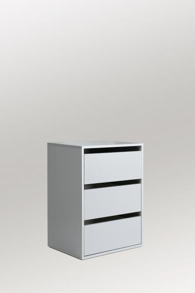Schubkastenblock ca 50 cm breit Twist von Forte Grau