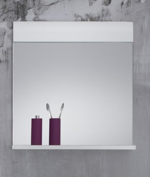 Badspiegel Skin/Gloss von Trendteam Weiß Hochglanz Tiefzieh