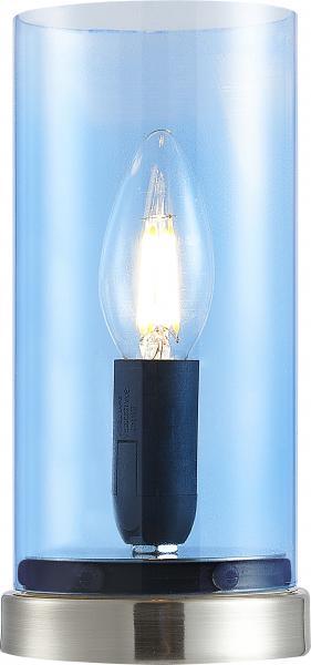 Tischleuchte 1-flg LAIK von Nino Nickel / Glas türkis
