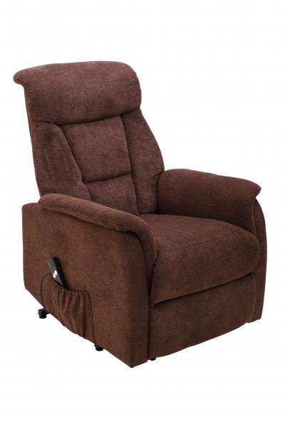 TV-Sessel einmotorisch inkl Aufstehhilfe u Relaxfunktion FM-585L von FEMO Braun