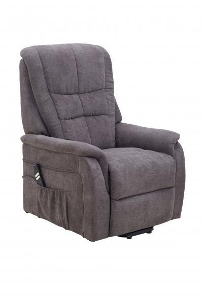 TV-Sessel zweimotorisch Aufstehhilfe u Relaxfunktion FM-335L2 von FEMO Grau