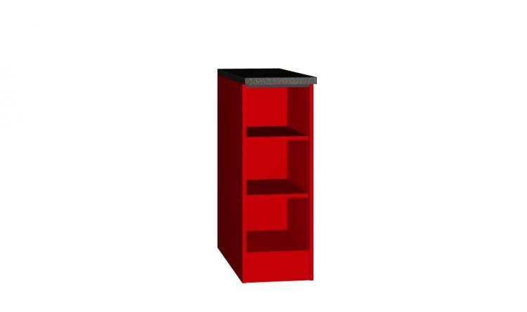 Unterschrank Regal 30x60 Steffen von Held Möbel Rot