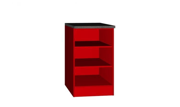 Unterschrank Regal 50x60 Steffen von Held Möbel Rot