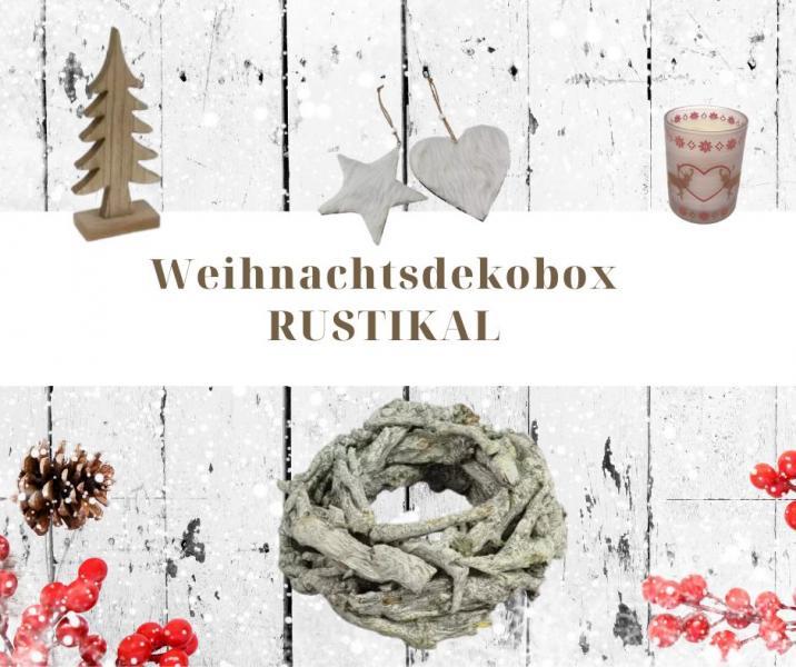 Weihnachtsdekobox 20 tlg RUSTIKAL von Wohnorama