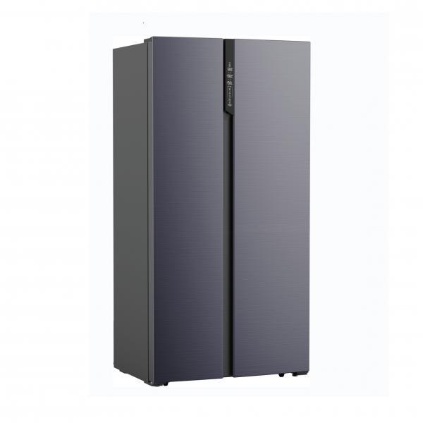 WOLKENSTEIN SBS500A++AT NoFrost Side-by-Side Kühl-Gefrierkombination 178 cm hoch Anthrazit