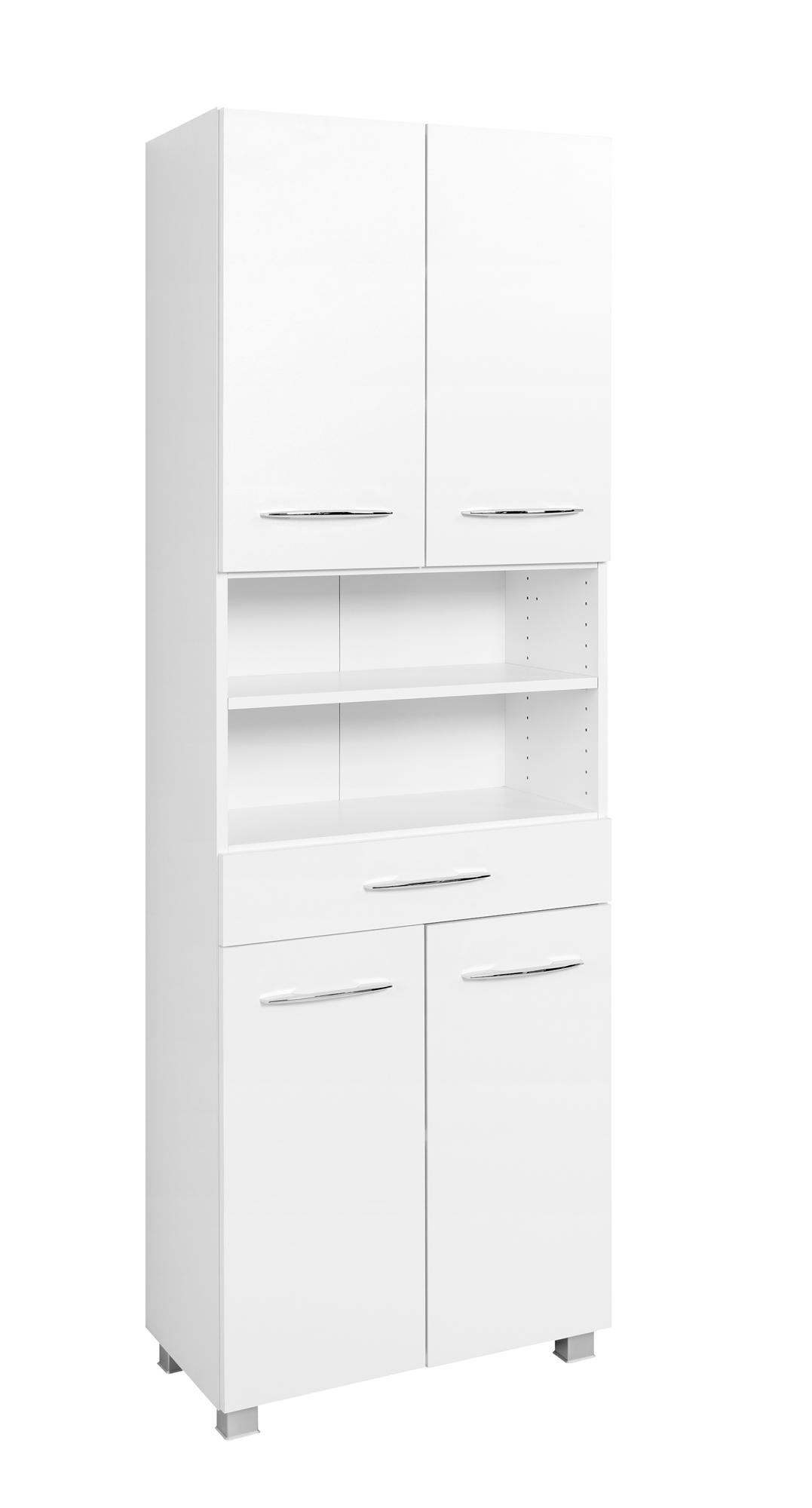 Seitenschrank 60 Portofino von Held Möbel Weiß