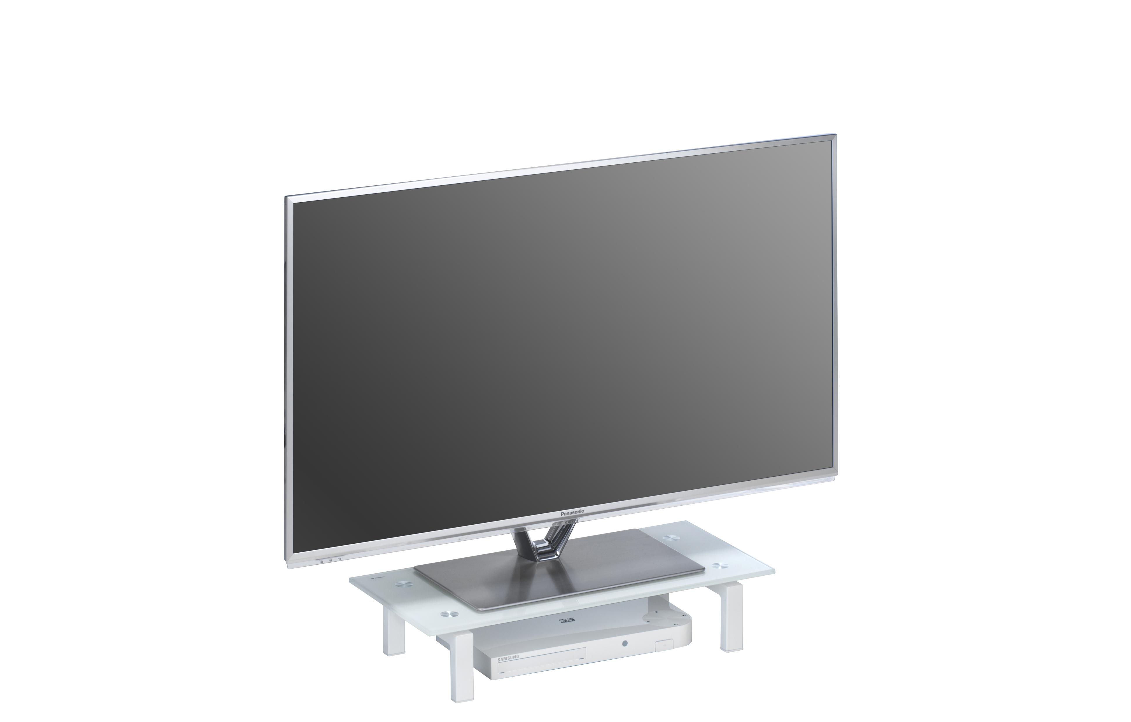TV-Glasaufsatz Podest ca 60 cm breit Media 1602...