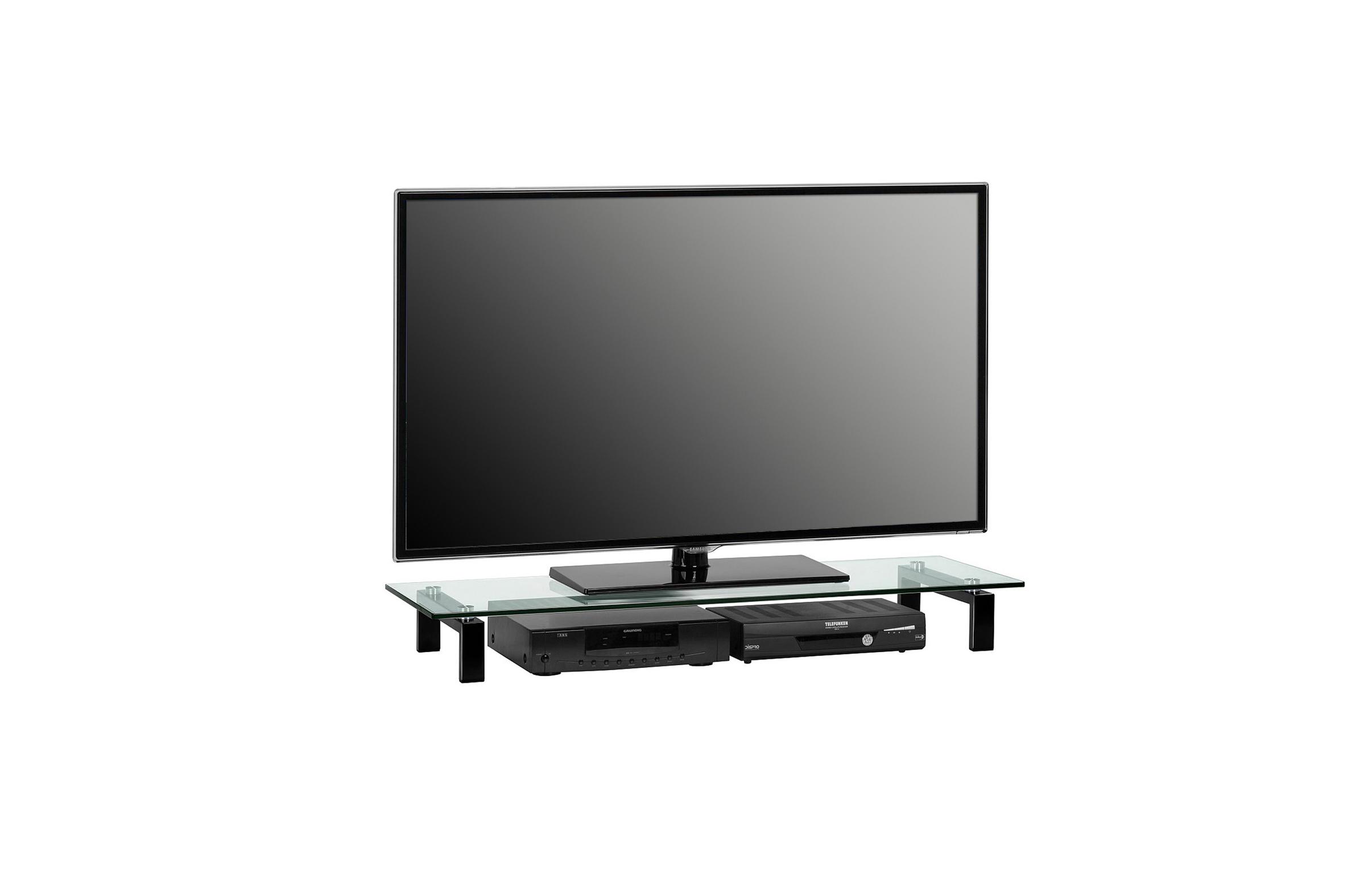 TV-Glasaufsatz Podest ca 110 cm breit Media 160...