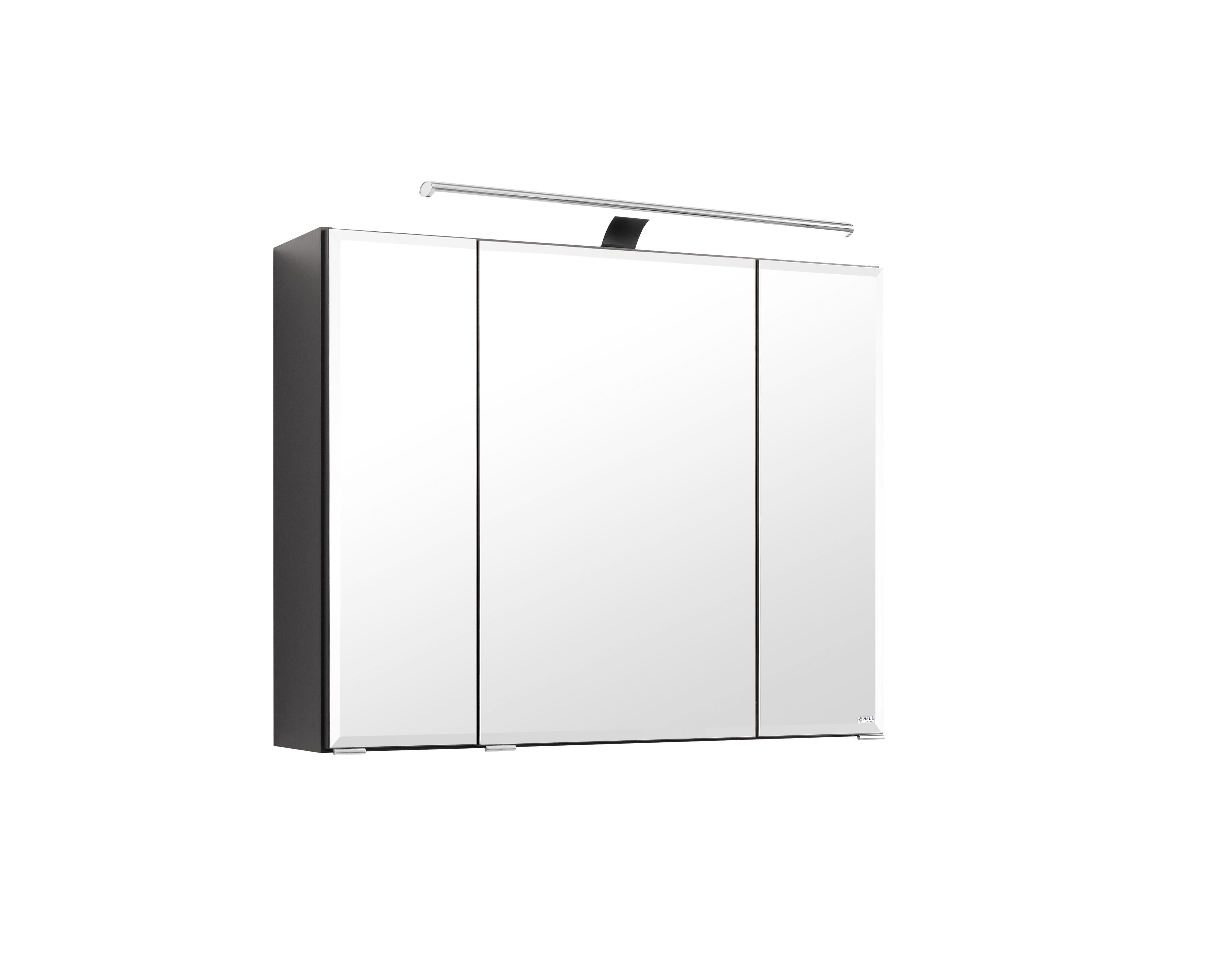 3d spiegelschrank 60 inkl halogen beleuchtung rimini von held m bel weiss by ebay. Black Bedroom Furniture Sets. Home Design Ideas