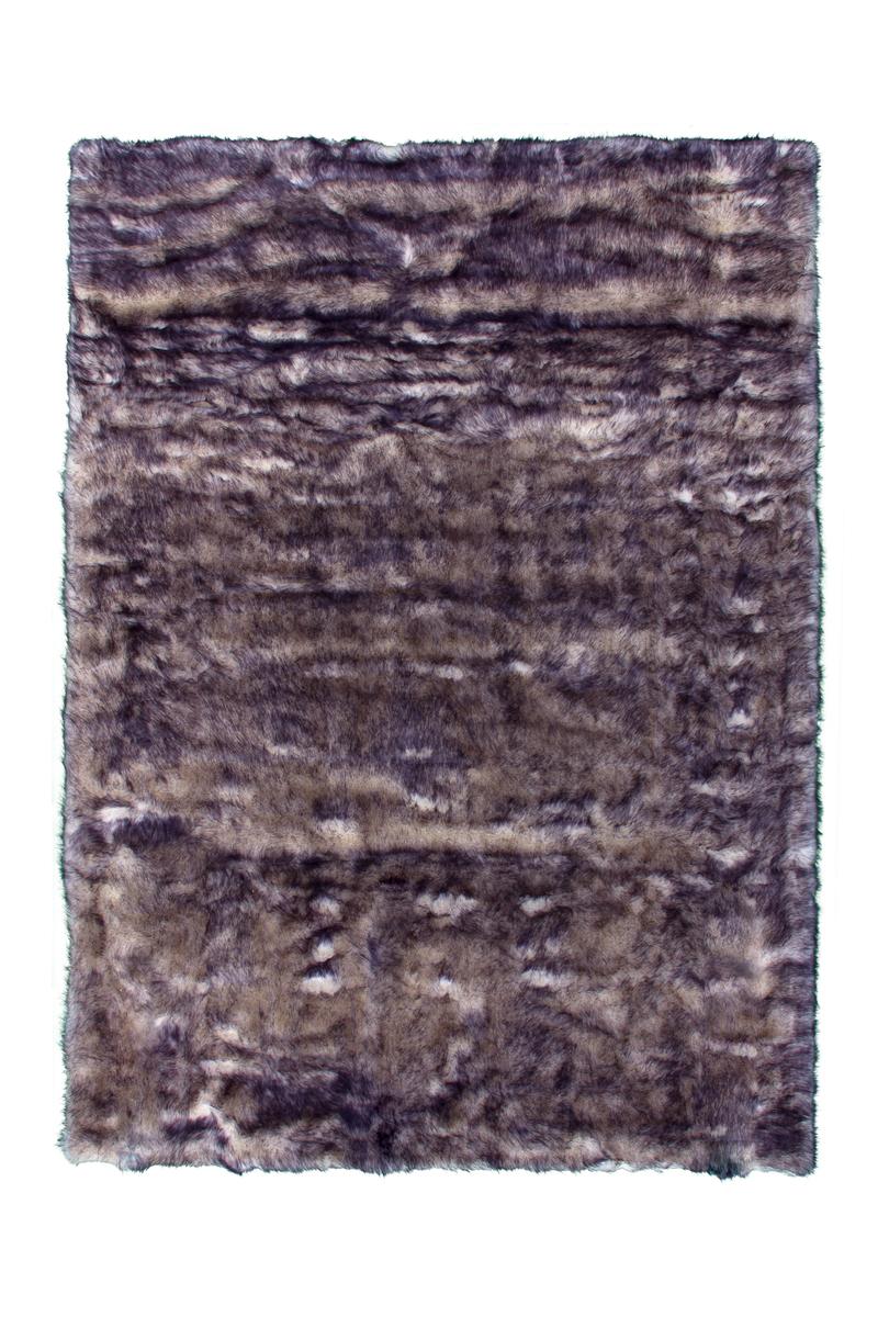 80x150 Teppich Crown 110 Weiß / Petrol von Kayoom
