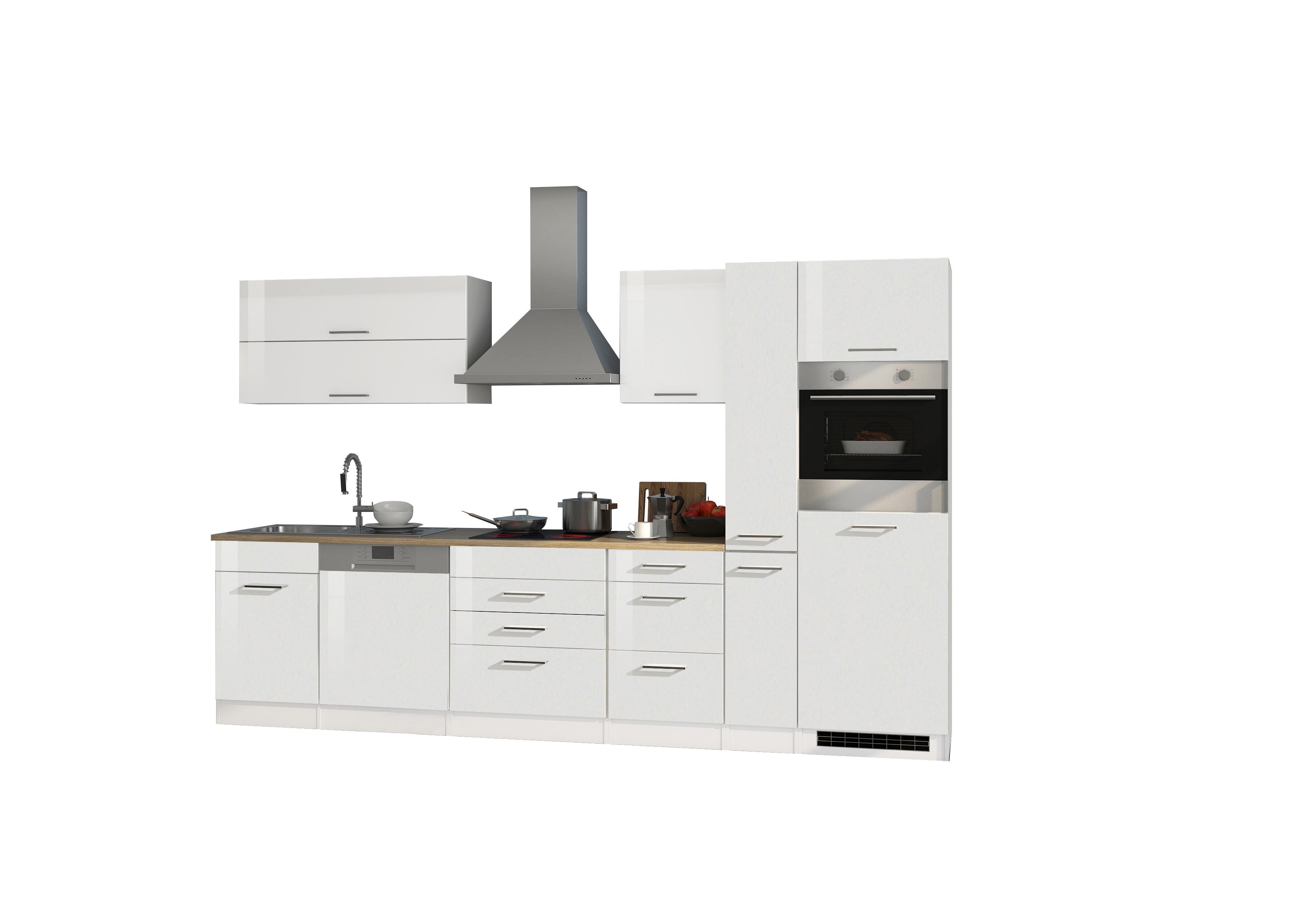 Kühlschrank Pkm : Küchenblock 330 inkl e geräte von pkm geschirrspüler induktion