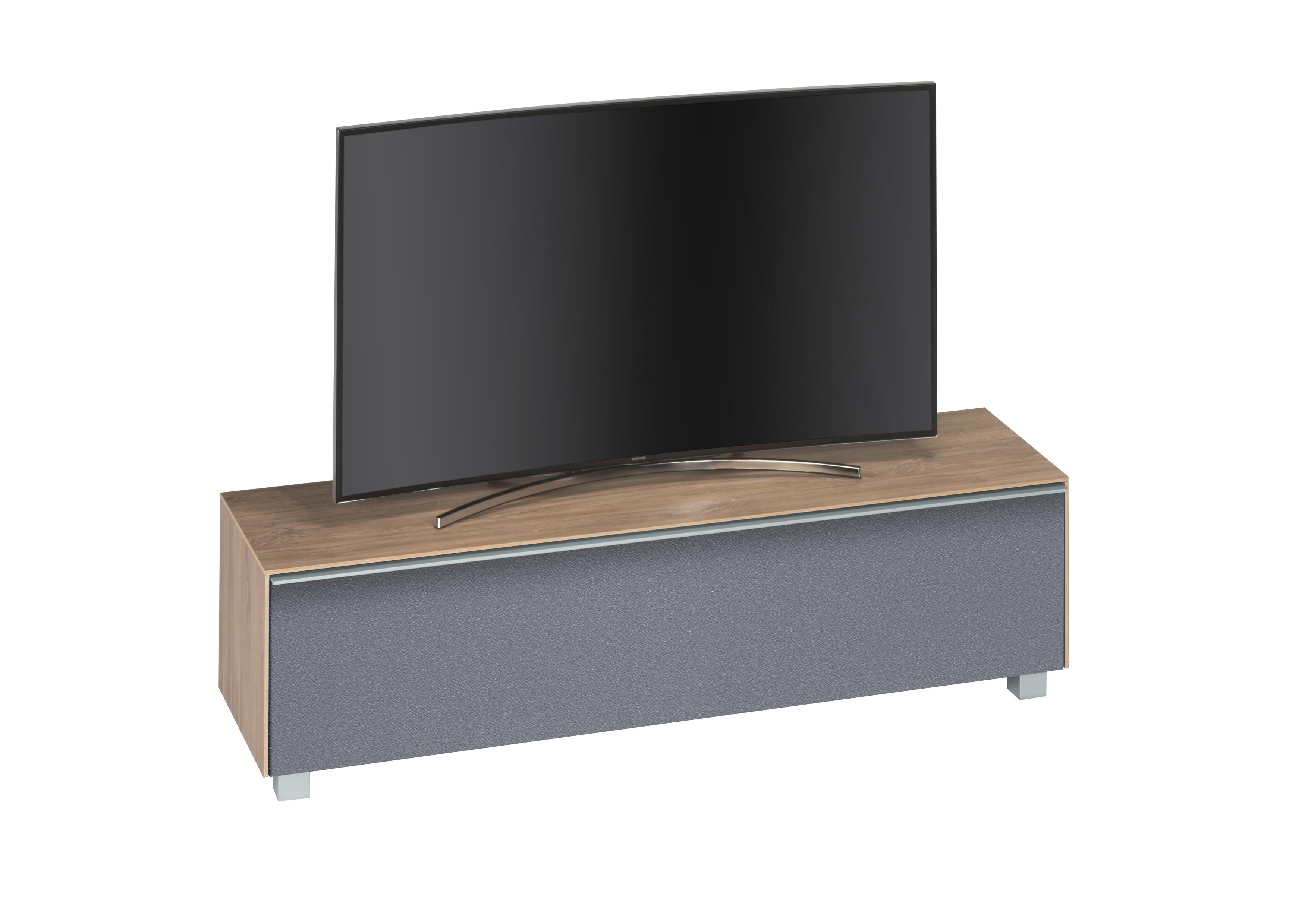 lowboard 160 cm breit soundconcept wood von maja riviera eiche grau. Black Bedroom Furniture Sets. Home Design Ideas