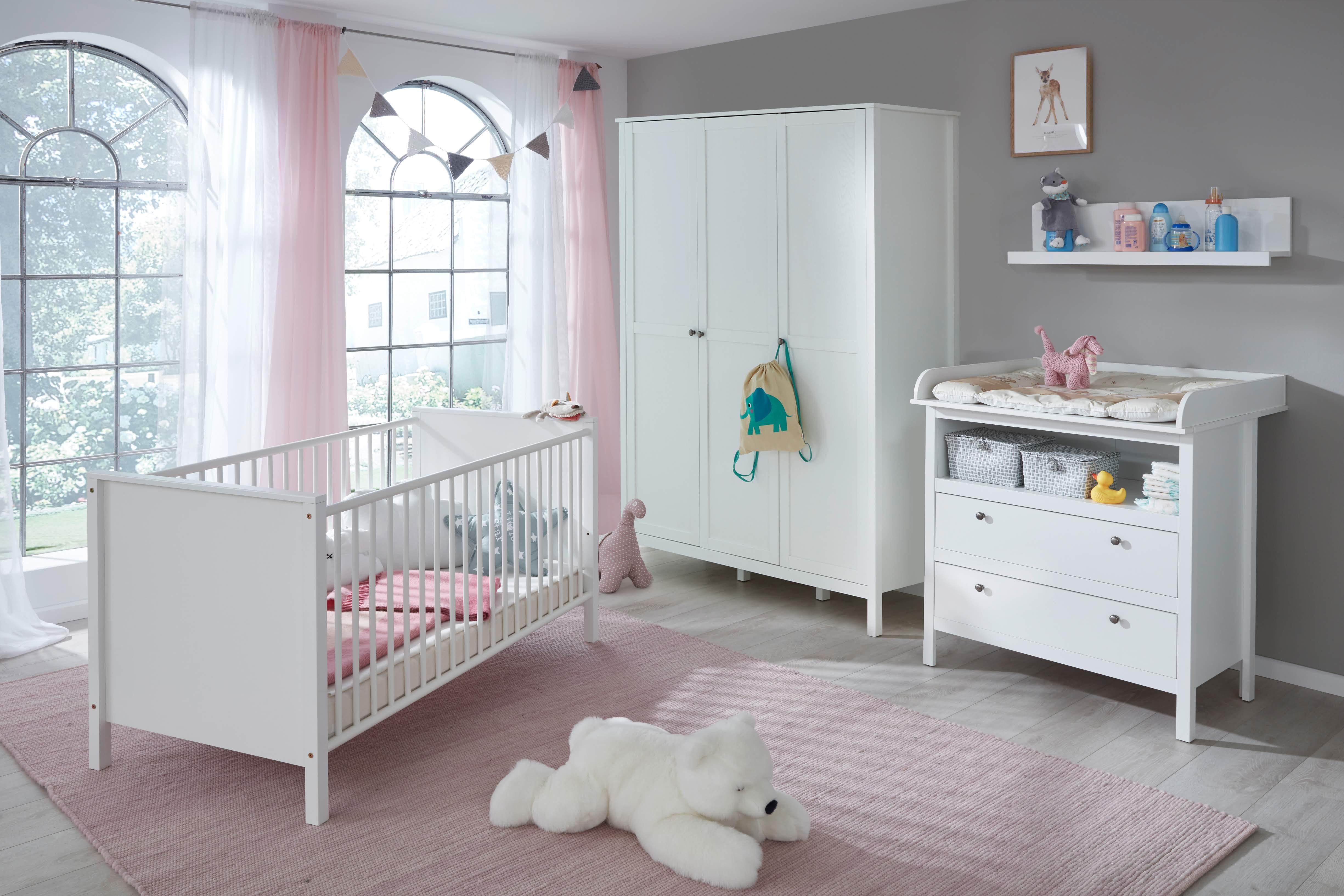 Babyzimmer Set 4 Tlg Inkl Kleiderschrank 3 Trg Ole Von Trendteam