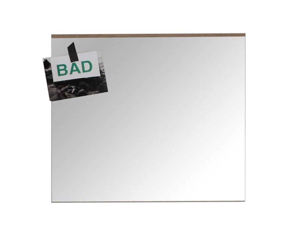 Bad-Spiegel Set-One von Trendteam Eiche San Remo Hell/Weiß