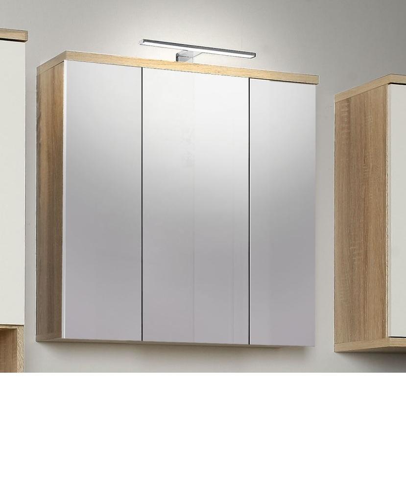girona bad spiegelschrank b h t 69 68 20. Black Bedroom Furniture Sets. Home Design Ideas