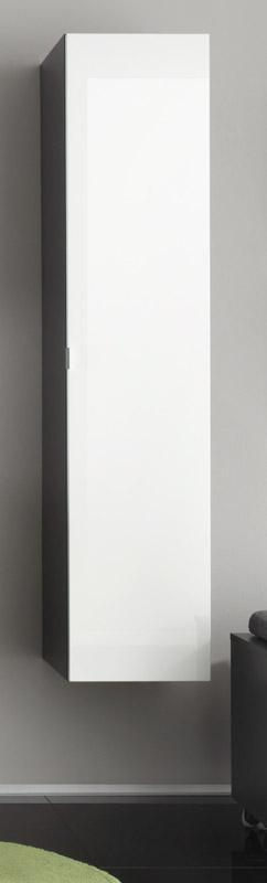 Hochschrank BEACH von Trendteam Grau / Weiss
