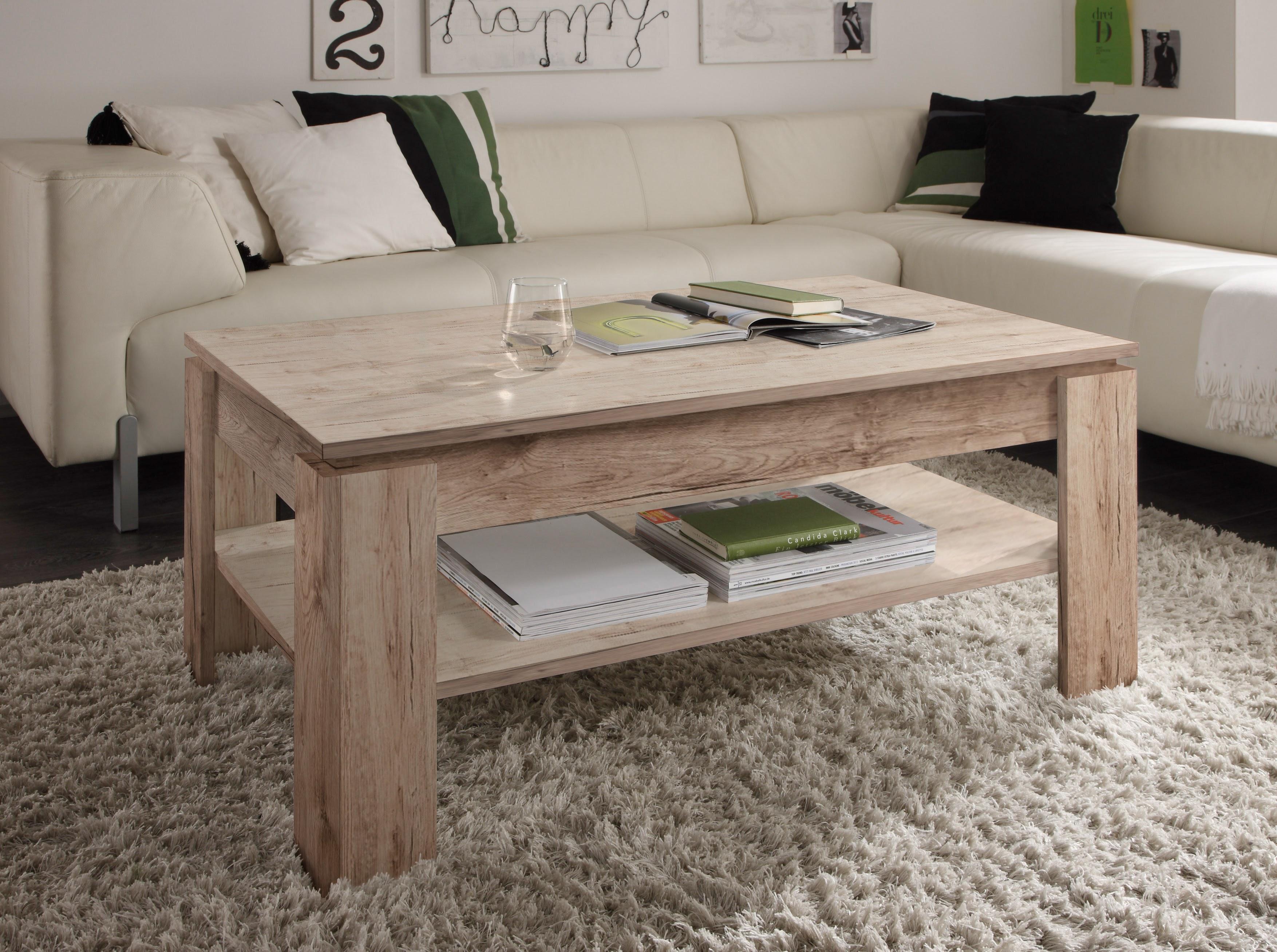 couchtisch universal von trendteam eiche san remo sand. Black Bedroom Furniture Sets. Home Design Ideas