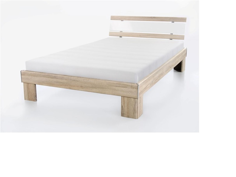 futonbett rohne 120x200 inkl rollrost u matratze. Black Bedroom Furniture Sets. Home Design Ideas