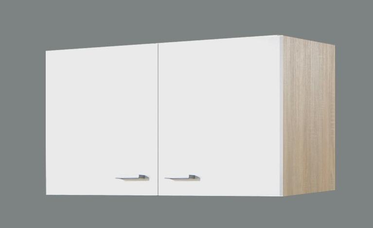 h ngeschrank 100 sonea von menke m bel weiss sonoma eiche. Black Bedroom Furniture Sets. Home Design Ideas