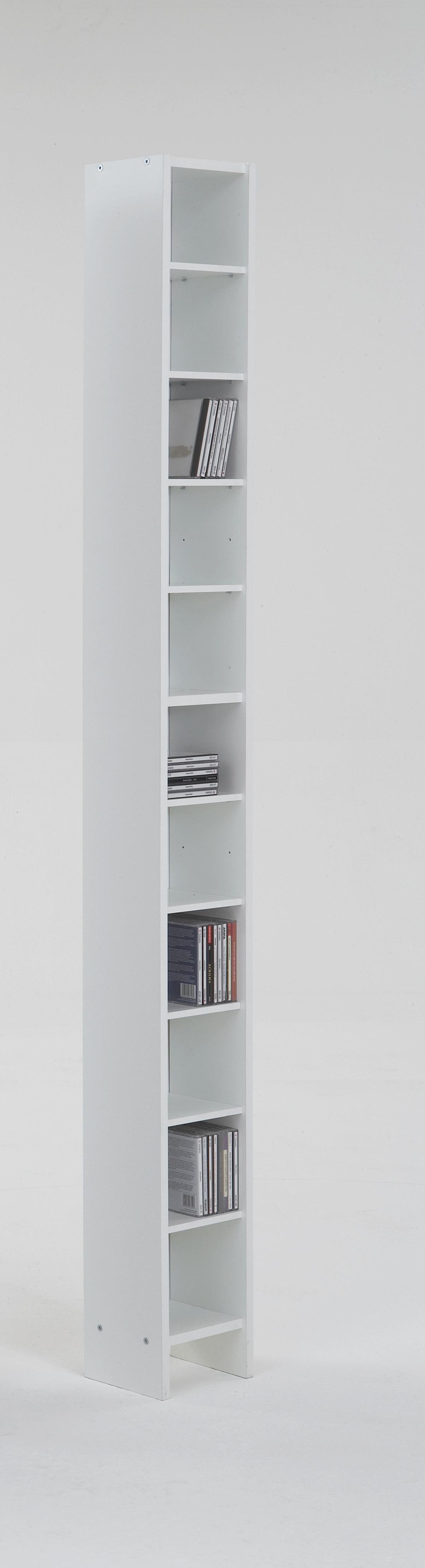 HALLO 2 CD / Videoregal von FMD Weiß