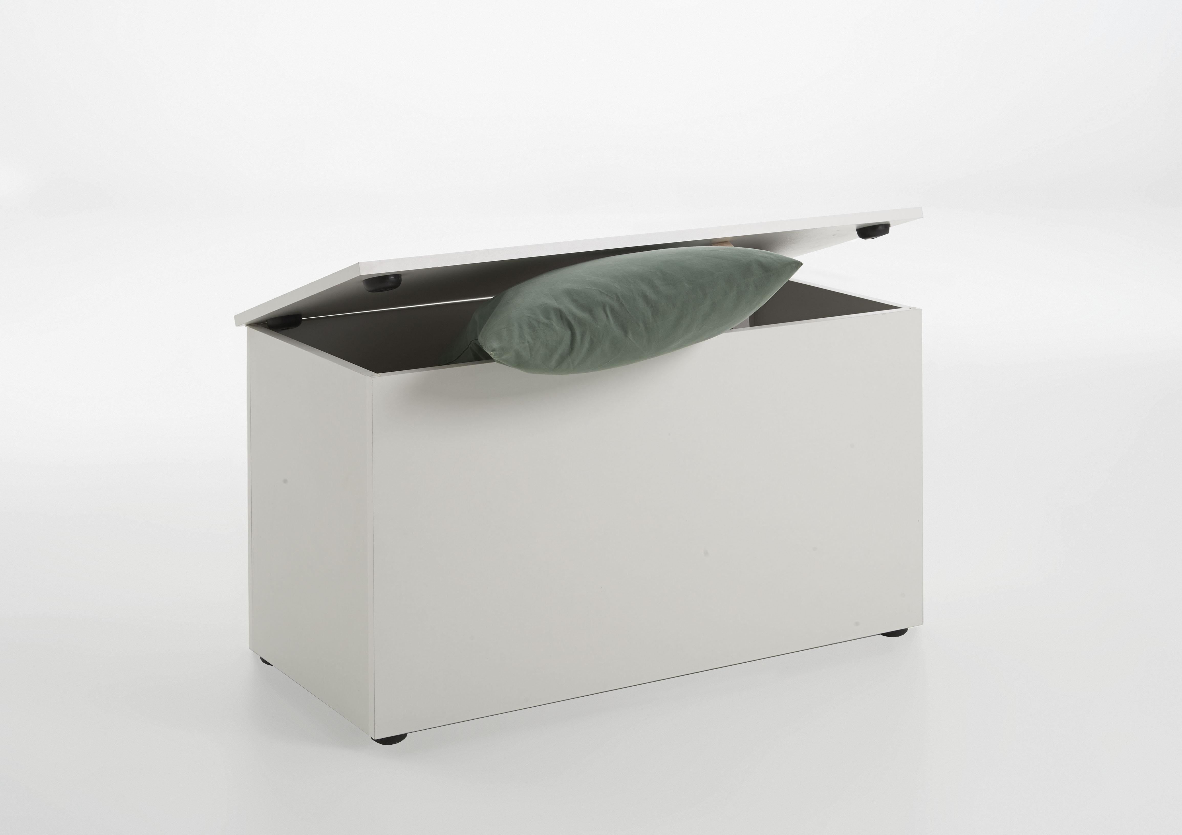 hocki 2 sitztruhe bank von fmd eiche by wohnorama ebay. Black Bedroom Furniture Sets. Home Design Ideas