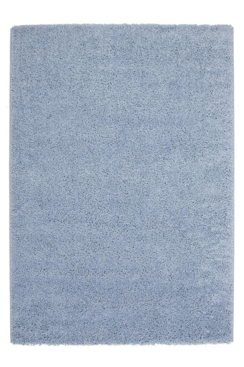 80×150 Teppich Comfy Hellblau