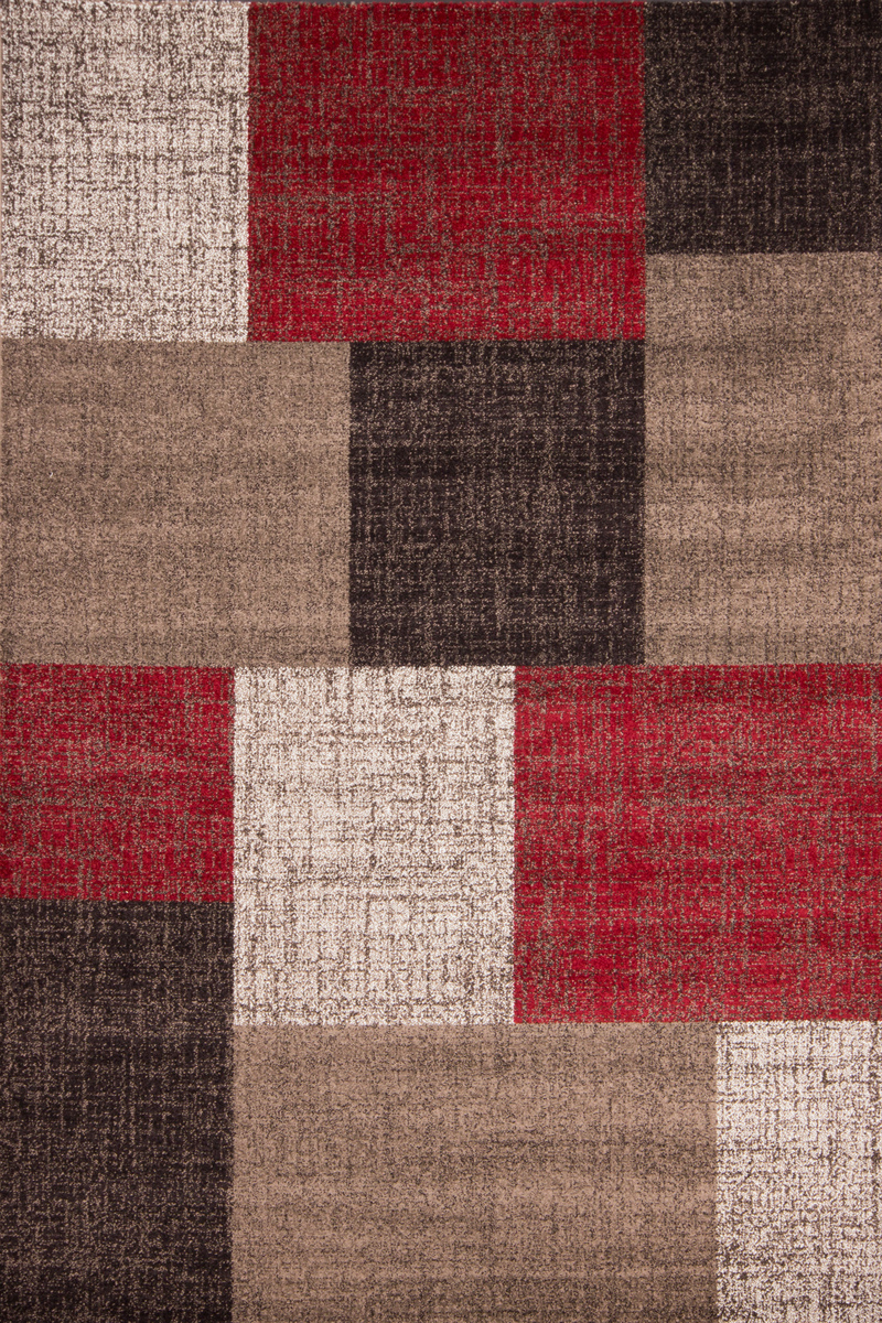 160x230 teppich switzerland geneva rot von lalee. Black Bedroom Furniture Sets. Home Design Ideas