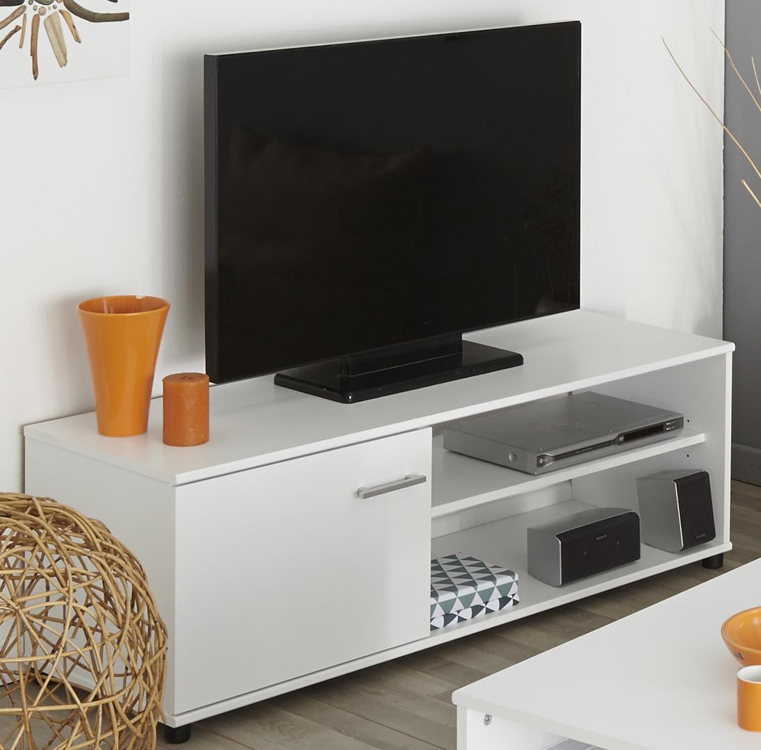 TV-Lowboard Infinity 111 von Parisot Weiß