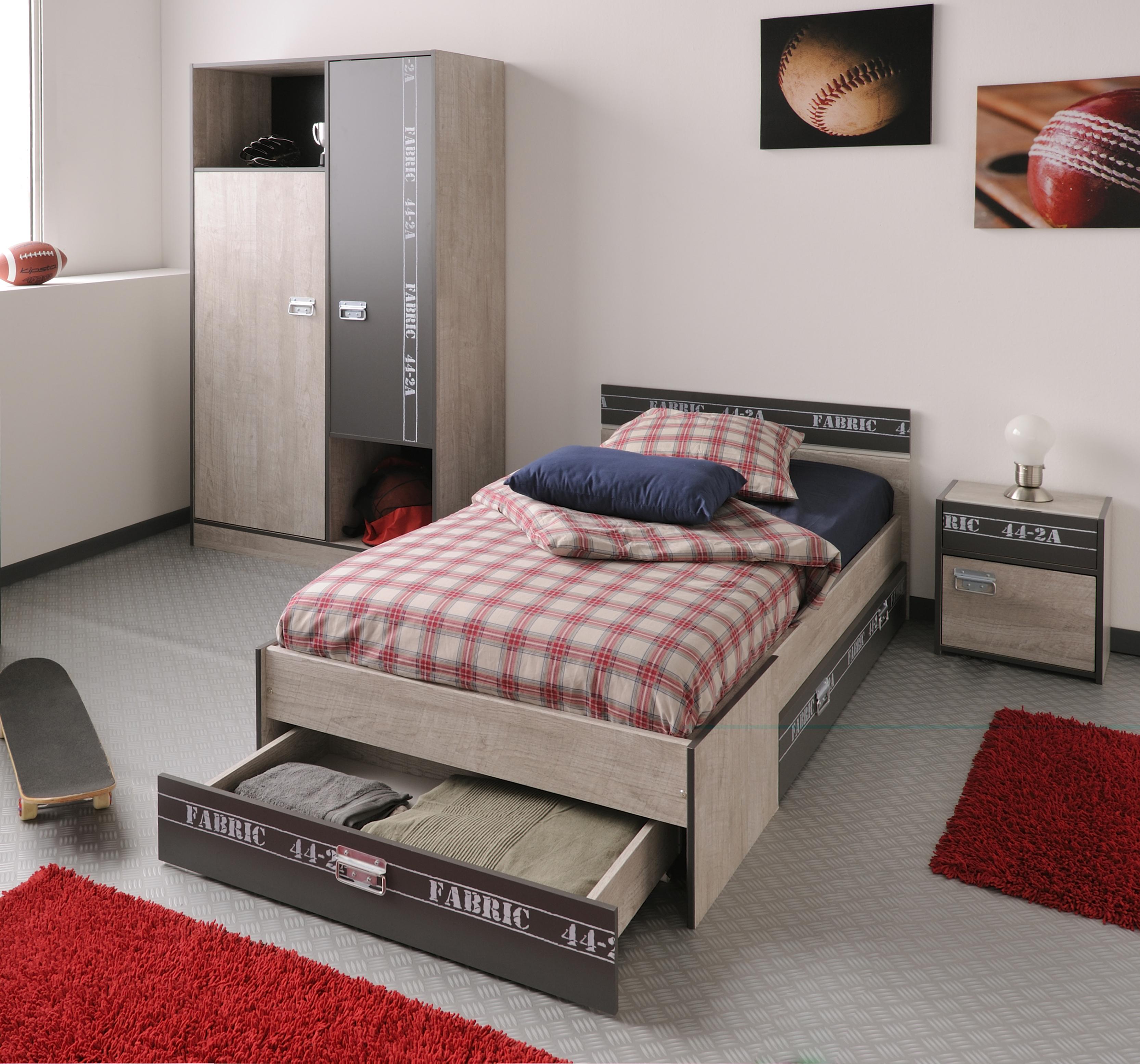 Jugendzimmer Programm, esche-grau-loft